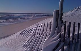 winter on lbi